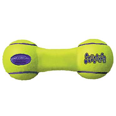 Air KONG Dumbbell Squeaker Dog Toy