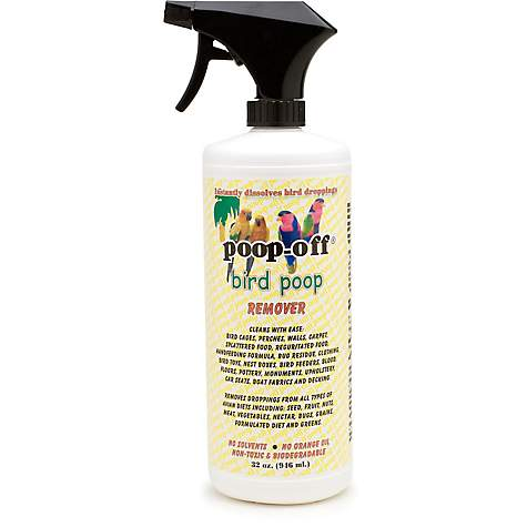 Poop off bird poop remover petco for Diarrhea smells like fish