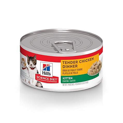 Hill's Science Diet Tender Chicken Dinner Canned Kitten Food