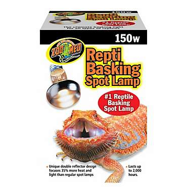 Zoo Med Repti Basking Spot Lamps, 150 Watts