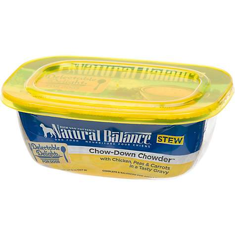 Natural Balance Dog Food Tubs