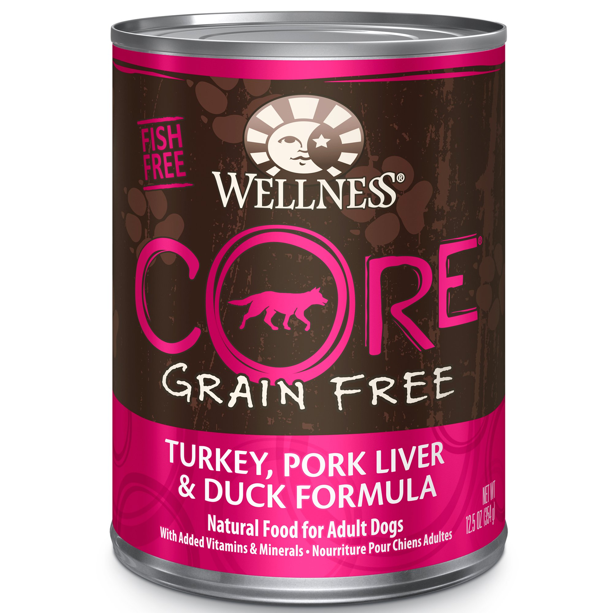 Wellness Core Natural Grain Free Pork Liver And Duck
