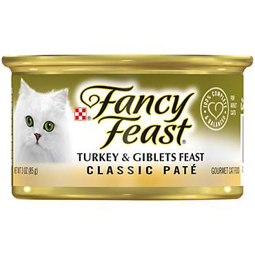 Purina Fancy Feast Classic Pate Turkey & Giblets Feast Wet Cat Food