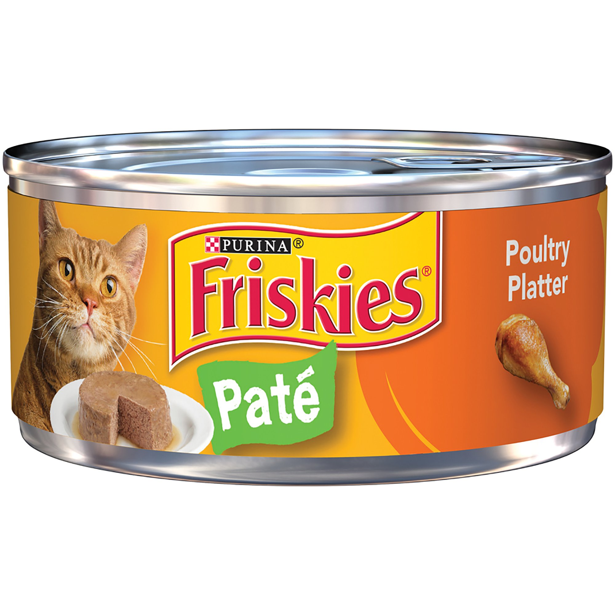 Friskies Classic Pate Canned Cat Food Chicken Amp Turkey