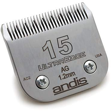 Andis Detachable Plus Model AG Blade Set #15 Medium Close Cut