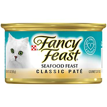 Purina Fancy Feast Seafood Classic Pate Wet Cat Food