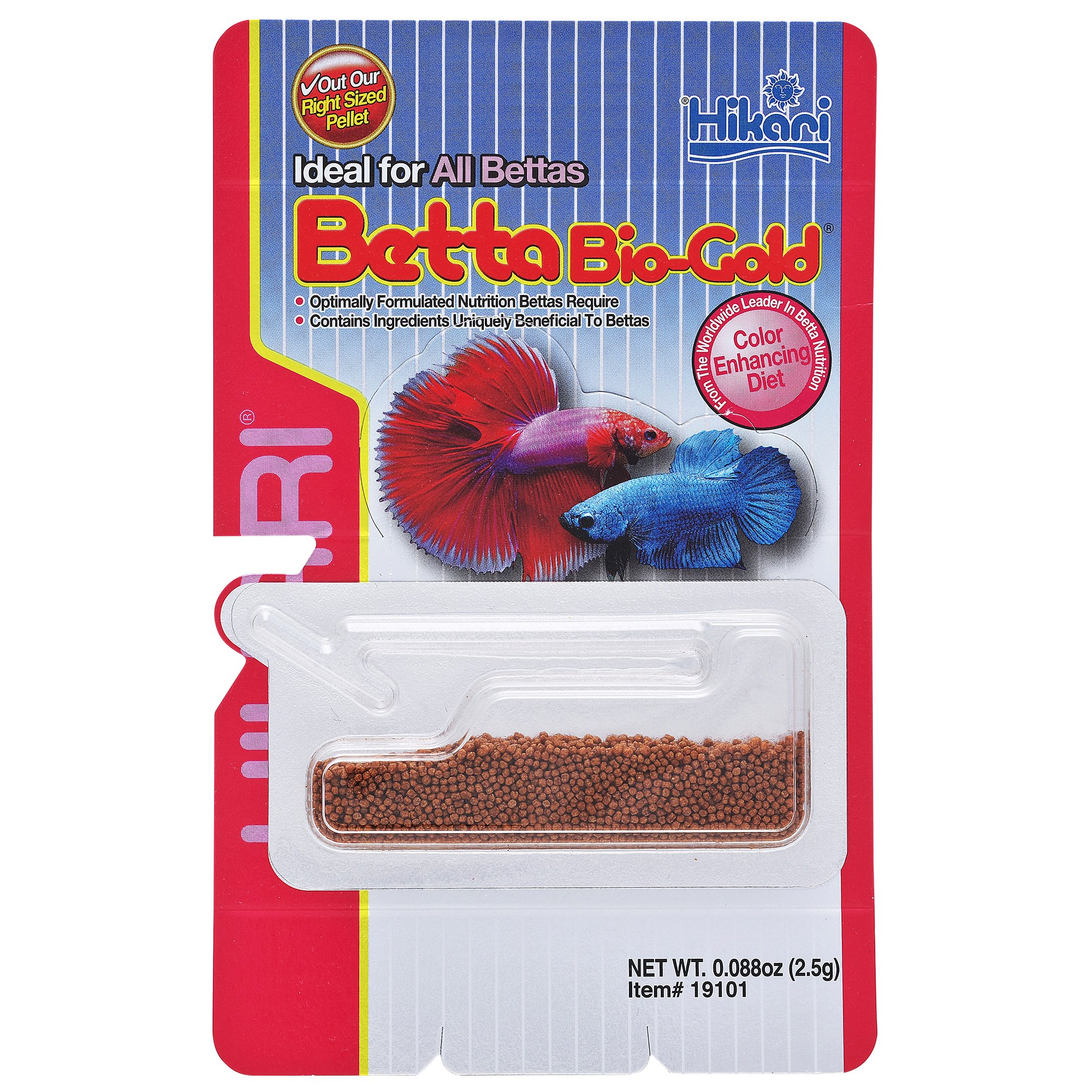 Hikari betta bio gold baby pellets petco for Betta fish pellets