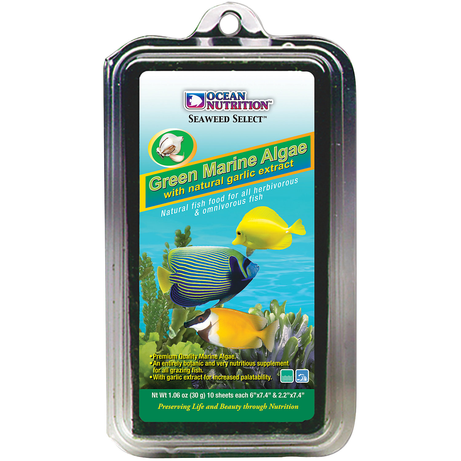 Ocean Nutrition Green Marine Algae Fish Food