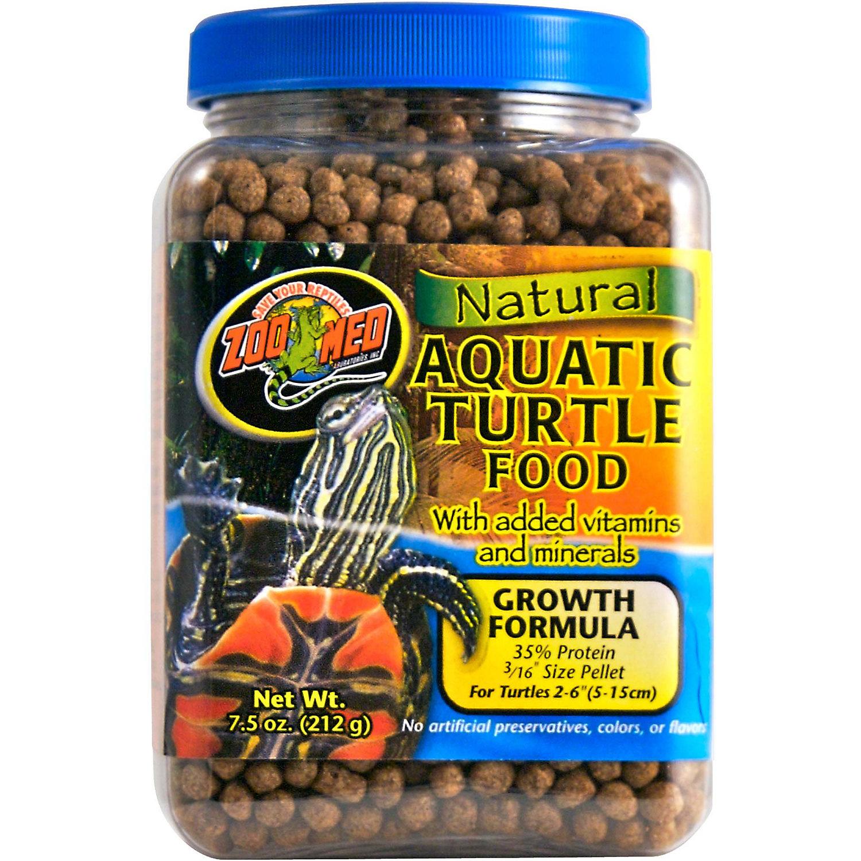 Zoo Med Aquatic Turtle Food Growth Formula 7.5 Oz.