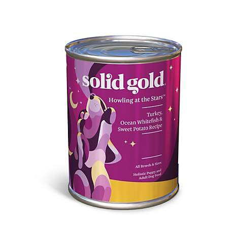 Solid Gold Howling at the Stars Turkey, Whitefish & Sweet Potato Canned Dog Food
