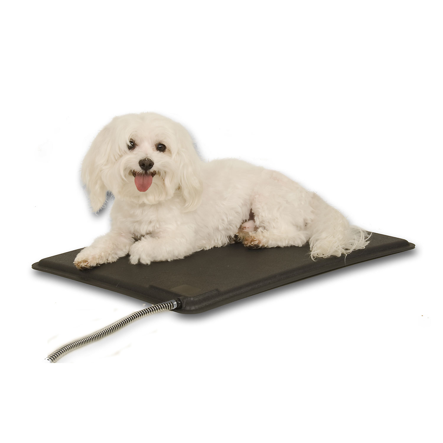 Kh Lectro Kennel Heated Pad Cover 12.5l X 18.5w Small Black