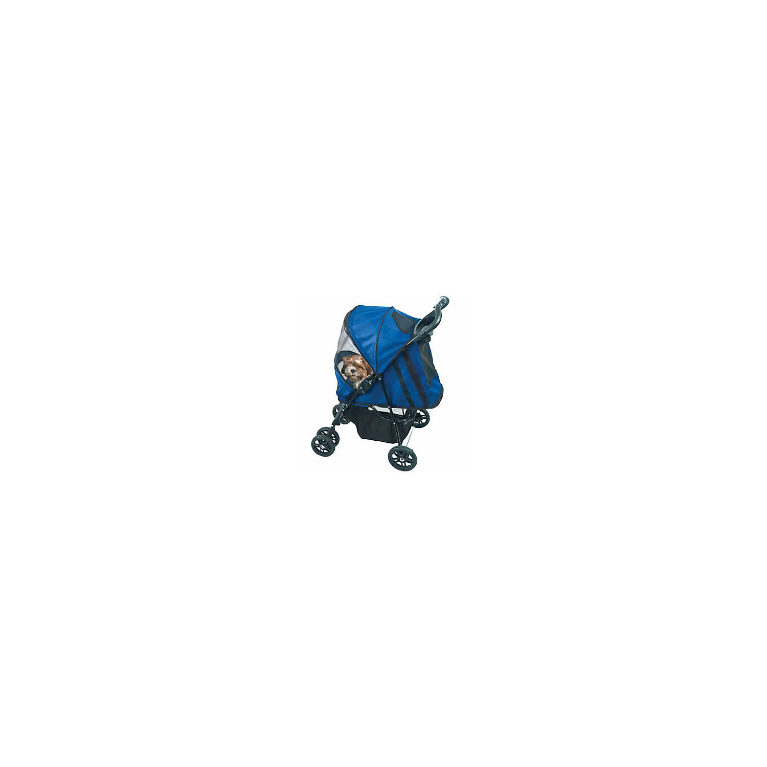 Pet Gear Blue Happy Trails Pet Stroller