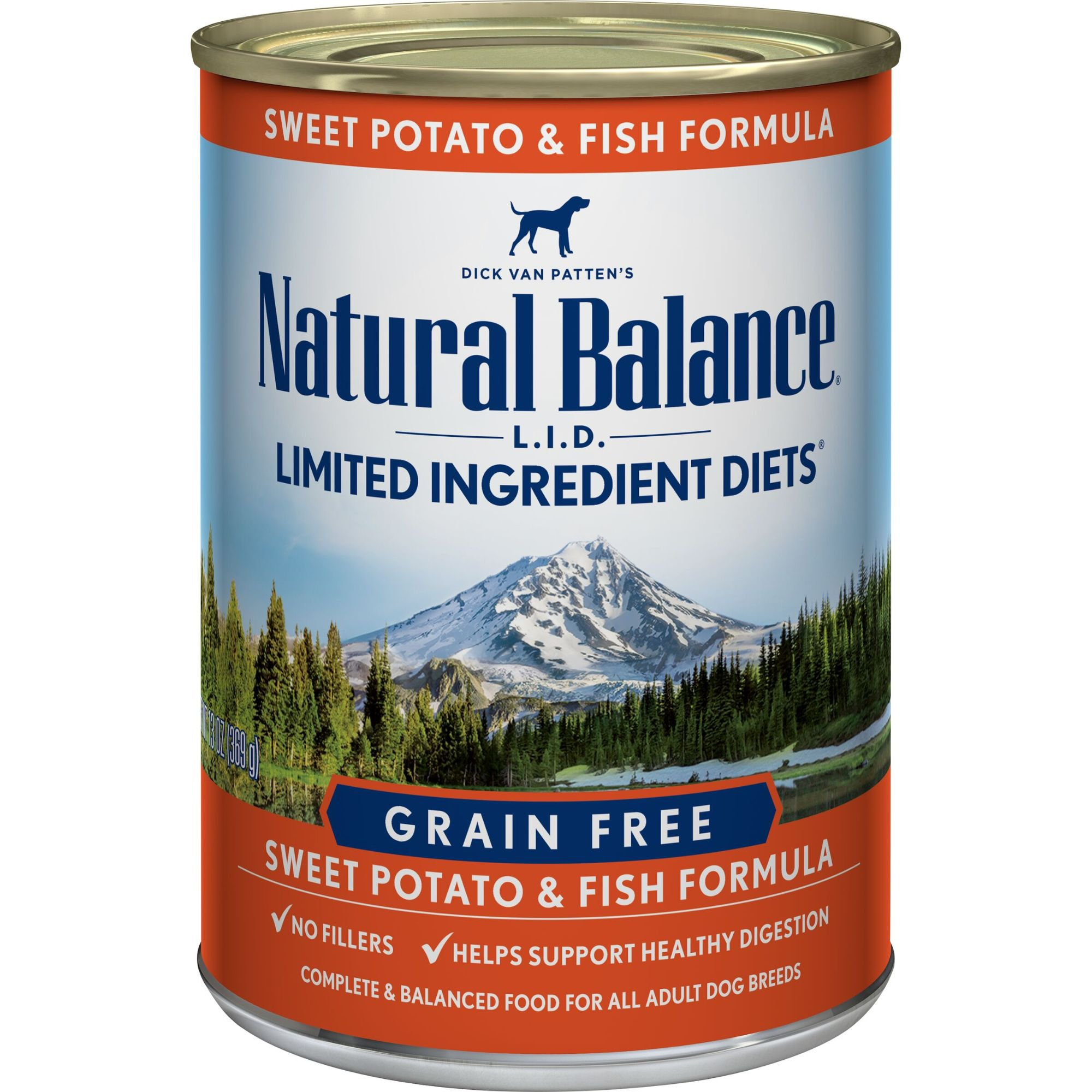 Natural Balance Limited Ingredient Diets Sweet Potatoes & Fish Canned Dog Food