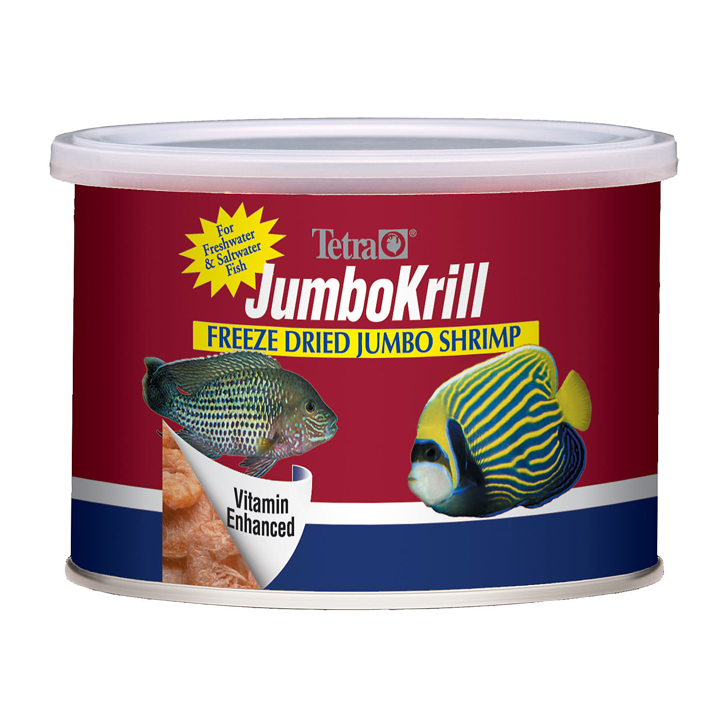 Tetra Jumbo Krill Shrimp Freeze Dried Treat