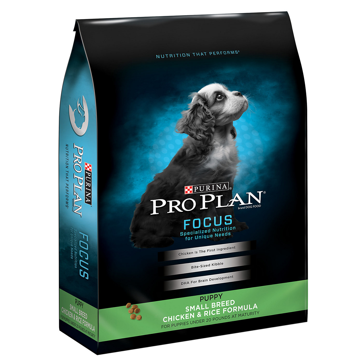 Pro Plan Focus Chicken Rice Small Breed Puppy Food 6 Lbs.