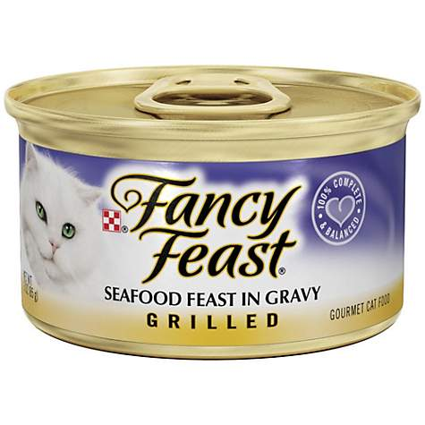 Fancy Feast Grilled Seafood Feast in Gravy Gourmet Cat Food