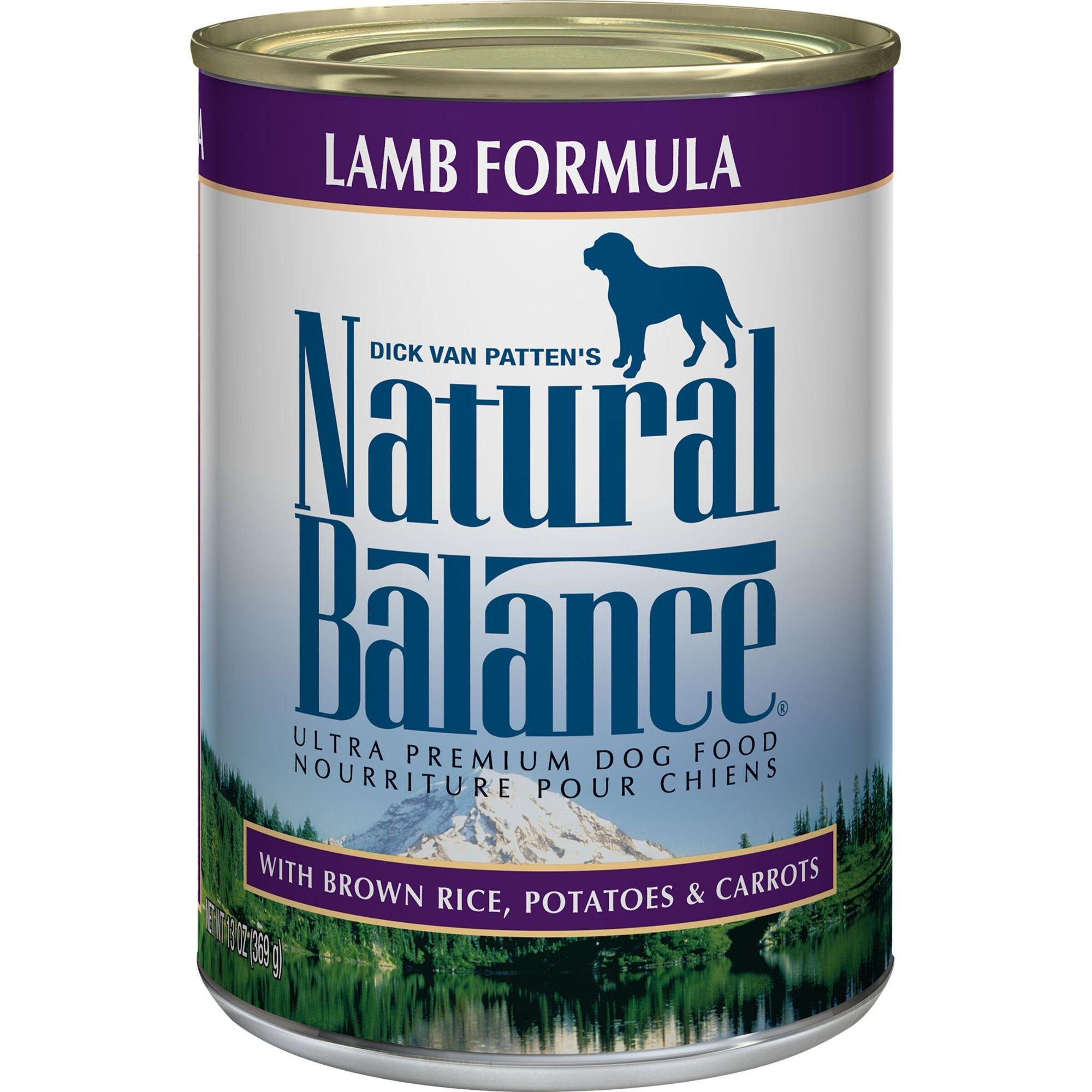 Natural Balance Premium Dog Food