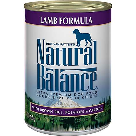 Natural Balance Ultra Premium Lamb Formula Wet Dog Food Petco