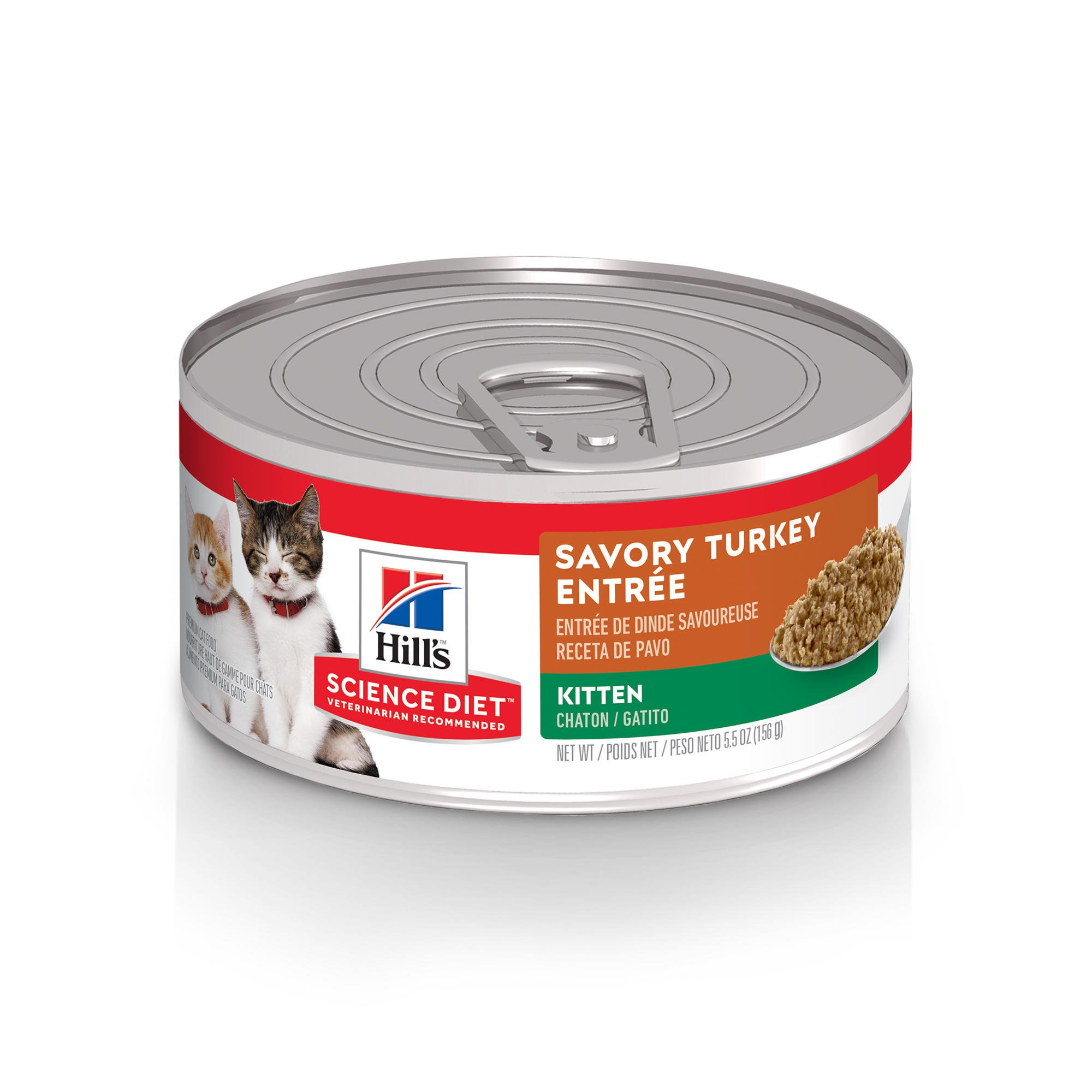 Hills Science Diet Kitten Savory Turkey Entree Canned Cat Food