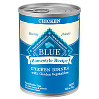 Blue Buffalo Homestyle Recipe Dinner Canned Dog Food, Chicken