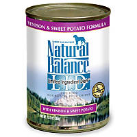 Natural Balance Limited Ingredient Diets Venison & Sweet Potato Formula Canned Dog Food