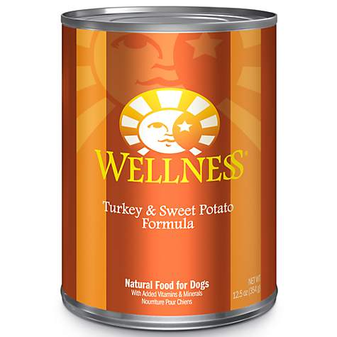 Wellness Complete Health Natural Turkey and Sweet Potato Wet Dog Food