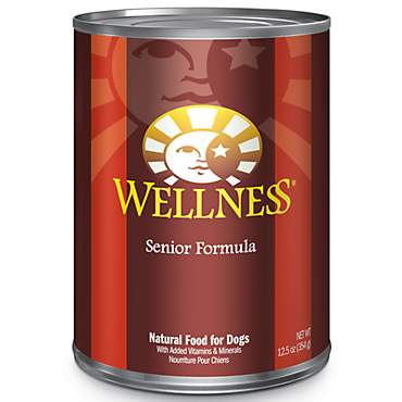 Wellness Complete Health Natural Senior Recipe Wet Dog Food