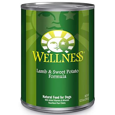 Wellness Complete Health Natural Lamb & Sweet Potato Canned Dog Food