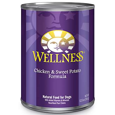 Wellness Chicken & Sweet Potato Canned Dog Food