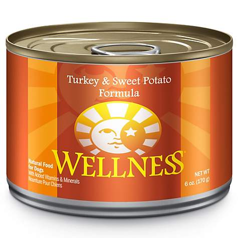 Wellness Complete Health Natural Turkey & Sweet Potato Formula Canned Dog Food