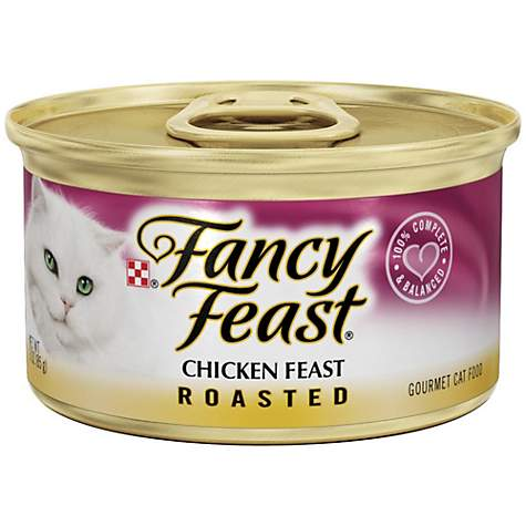 Fancy Feast Roasted Chicken Feast Gourmet Cat Food