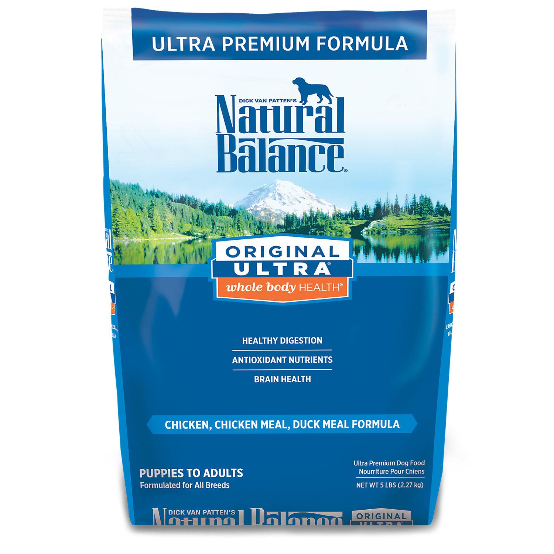 Natural Balance Original Ultra Whole Body Health Dog Food 5 Lbs.