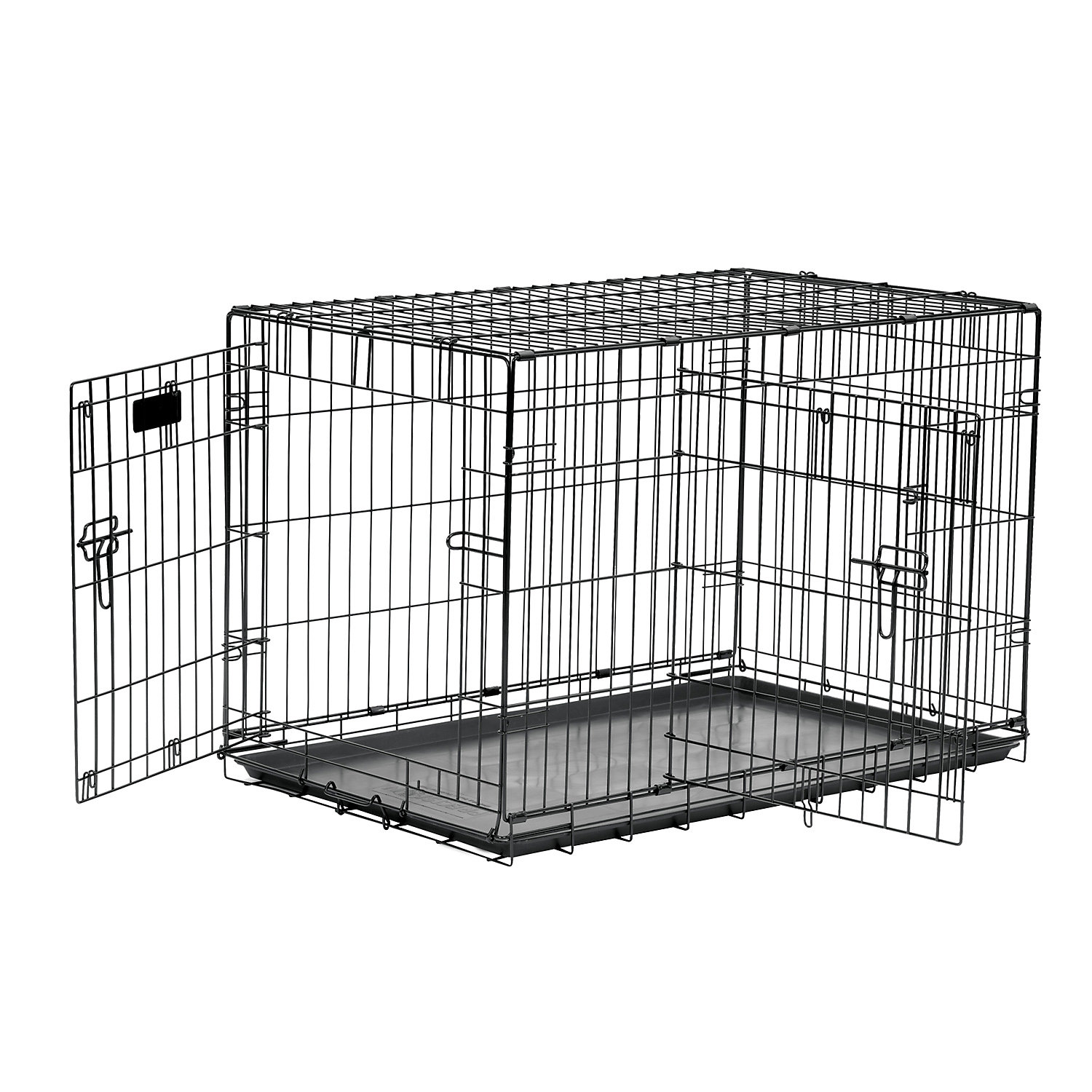 Precision Pet 2 Door Great Crate 25 L X 22 W X 25 H Large Black