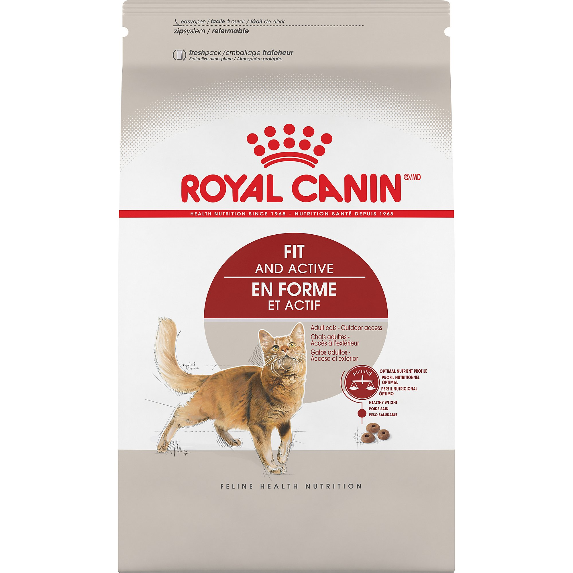 royal canin feline health nutrition adult fit 32 dry cat. Black Bedroom Furniture Sets. Home Design Ideas