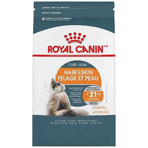 royal canin feline care nutrition hair skin care adult dry cat food petco. Black Bedroom Furniture Sets. Home Design Ideas