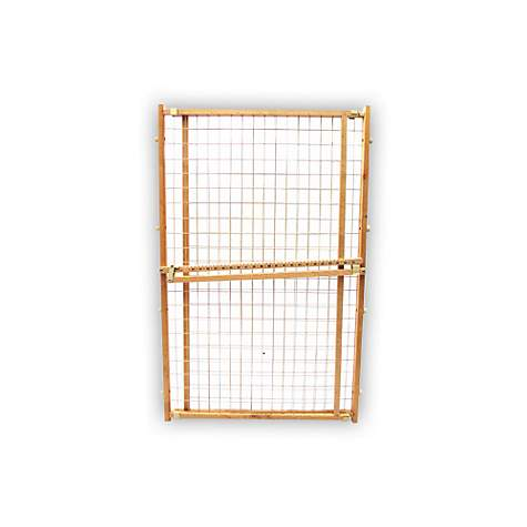 Four Paws Wood Frame Wire Mesh Gates
