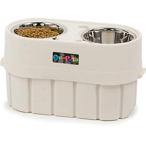 Our Pet's Store-N-Feed Adjustable Feeder