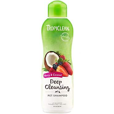 TropiClean Berry Deep Cleaning Shampoo