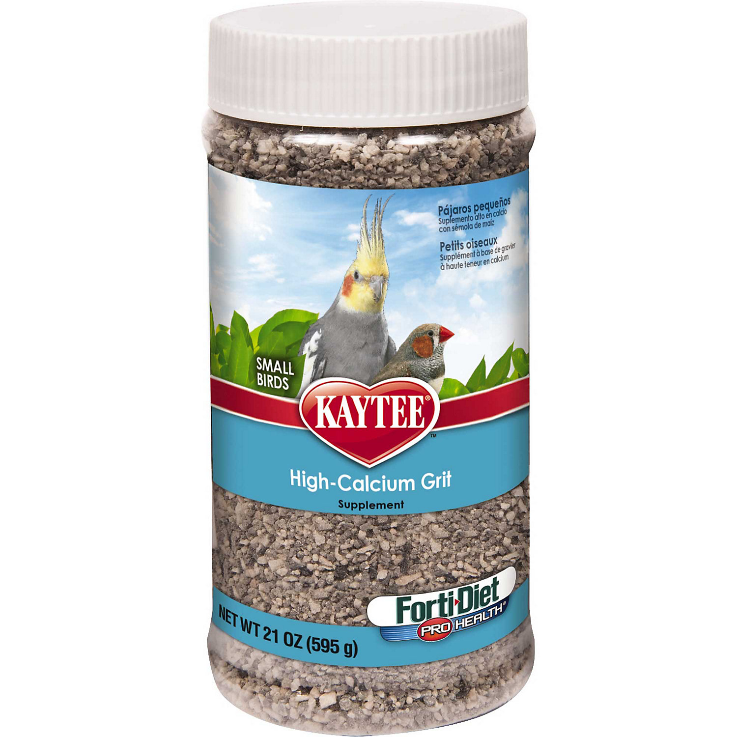 Kaytee Forti Diet Pro Health Hi Cal Grit Supplement For Small Birds
