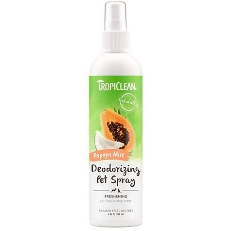 TropiClean Natural Pet Spray Colognes, Papaya