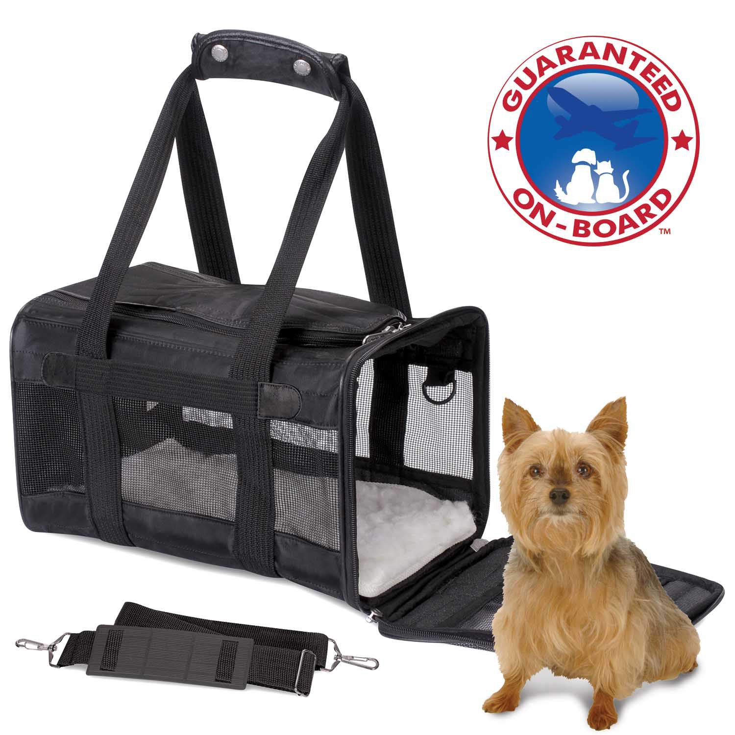 The Original Sherpa Dog Carrier In Black Petco