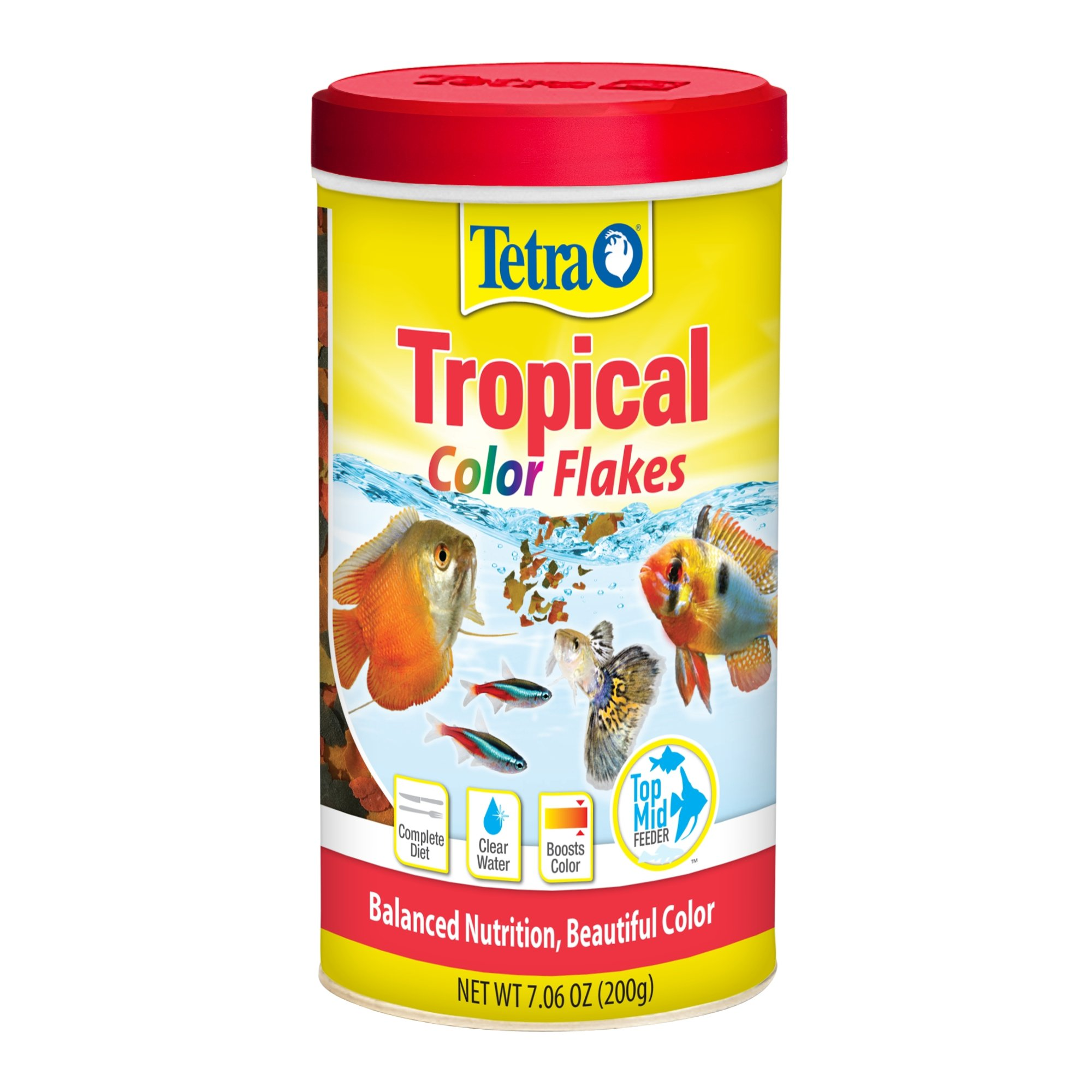 TetraColor Tropical Flakes | Petco