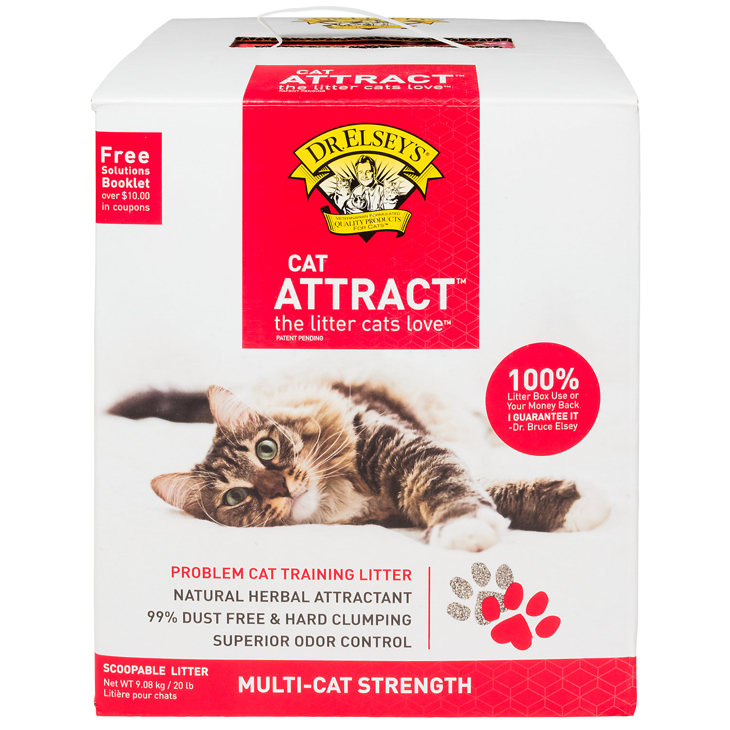 Precious Cat Dr. Elseys Cat Attract Scoopable Cat Litter