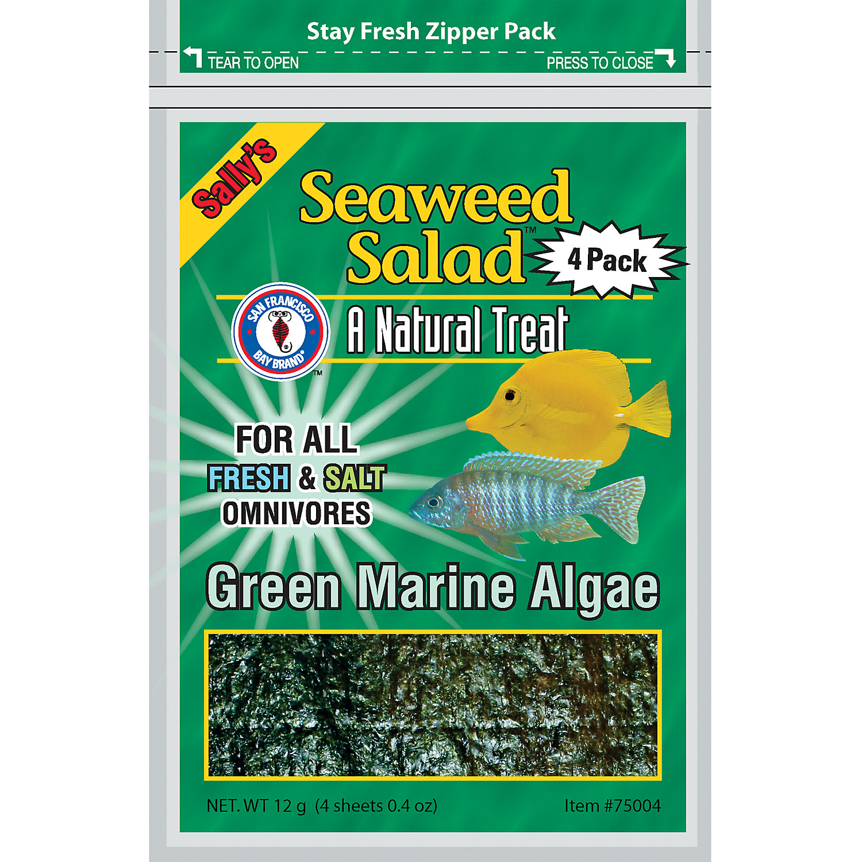 San Francisco Bay Brand Sallys Seaweed Salad Green Marine Algae