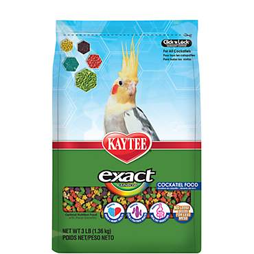 Kaytee Exact Rainbow Premium Daily Nutrition for Cockatiels