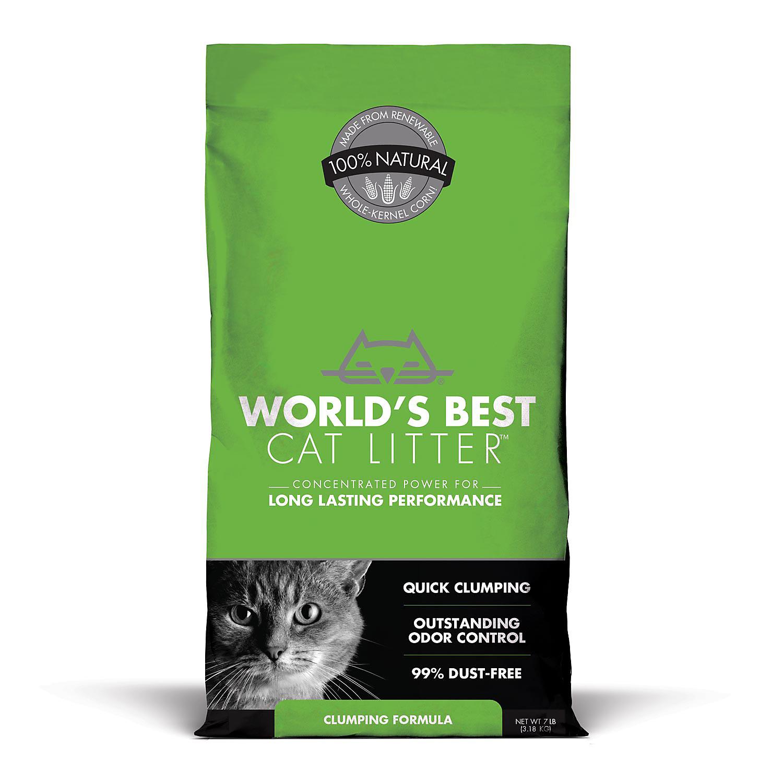 Worlds Best Cat Litter Clumping Formula 7 Lbs.
