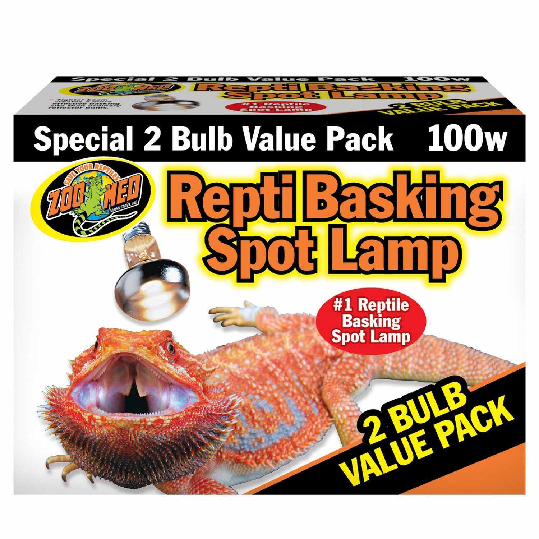 Zoo Med Repti Basking Spot Lamp Value Pack, 100 Watts   Petco at Petco in Braselton, GA   Tuggl