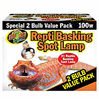 Zoo Med Repti Basking Spot Lamp Value Pack, 100 Watts