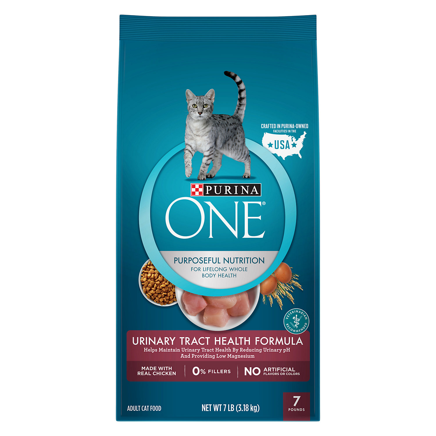 UPC 017800549172 product image for Purina ONE Special Care Urinary Tract Health Formula Cat Food | upcitemdb.com