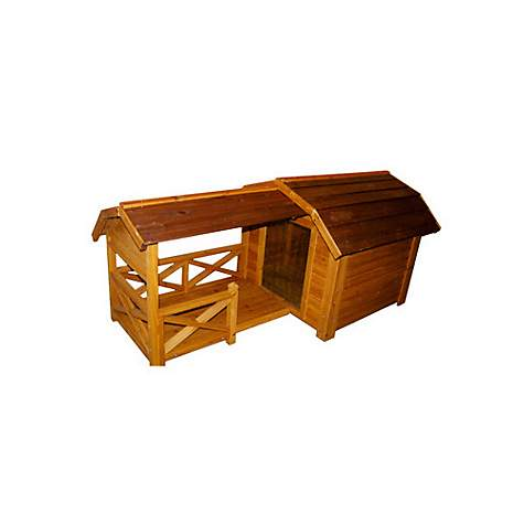 Merry Products Wood Pet Home- The Barn